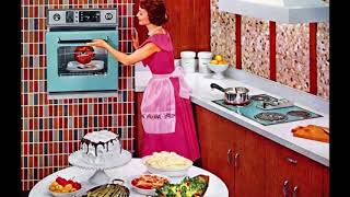 1950s Dream Kitchens! The Kitchens Of The FUTURE!