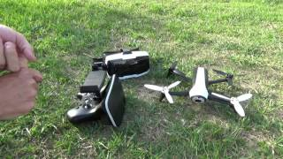 The BEST Drone For YouTube Creators - Parrot Bebop 2 FPV Skycontroller
