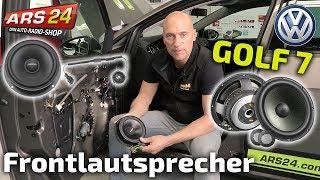 Front-Lautsprecher im VW Golf 7 installieren | Tutorial | ARS24