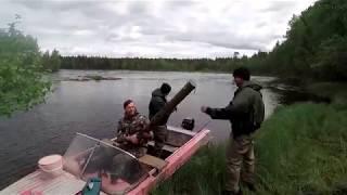 Рыбалка на реке сегежа дикарем