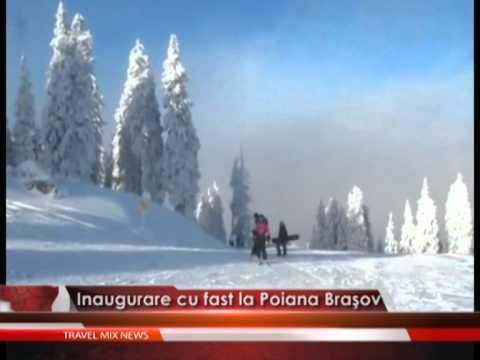 Inaugurare cu fast la Poiana Braşov