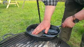 Campfire Cooking - How to look after your camping cast ironware