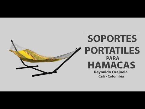 Soporte Portátil Para Hamaca - Vídeo Promocional.