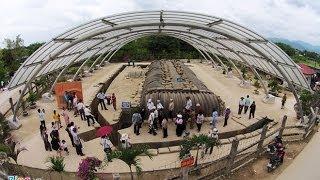 preview picture of video 'Toàn cảnh trận địa Điện Biên Phủ nhìn từ trên cao'