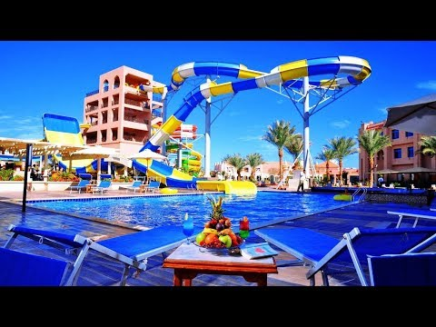 Top10 Recommended Hotels with Aqua Park in Hurghada, Red Sea, Egypt