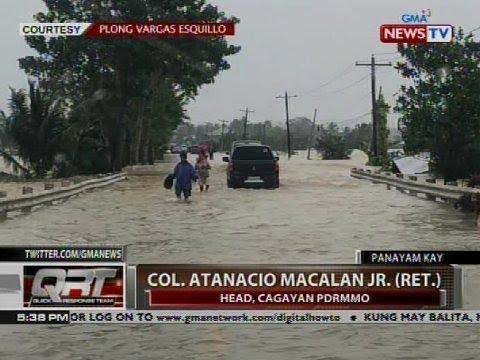 [GMA]  QRT: Panayam kay Col. Atanacio Macalan Jr. (ret.), head, Cagayan PDRRMO