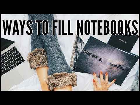 8 Ways To Fill Your Journals & Notebooks