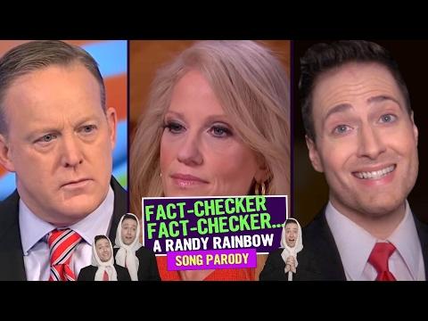 FACT-CHECKER, FACT-CHECKER 🎳💚 Randy Rainbow Song Parody