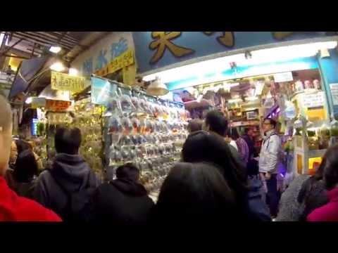 Il mercato dei pesci rossi  - Hong Kong