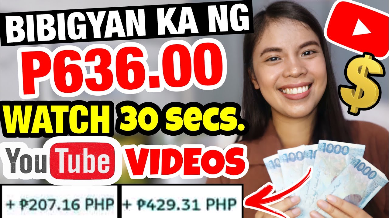 MAKE P636 BY ENJOYING 30 SECONDS YOUTUBE VIDEOS DAILY PAYMENT LEGITIMATE APP w/ Evidence!