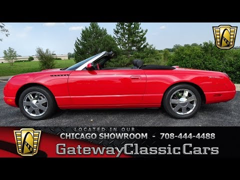 Video of '02 Thunderbird - LRV2
