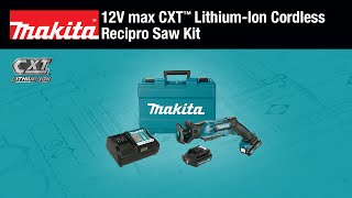 MAKITA 12V max CXT™ Recipro Saw Kit - Thumbnail