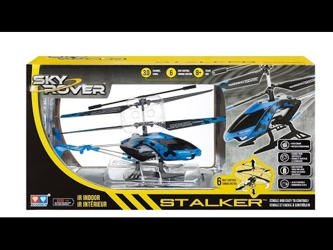 Best Beginner RC Helicopter Hobby Sky Rover Stalker in depth review cheap affordable toy grade