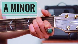 A minor (Am) Chord   Beginner Guitar Lesson