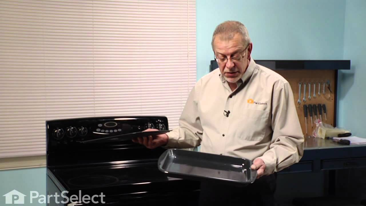 Replacing your Whirlpool Range 2 Piece Broiler Pan