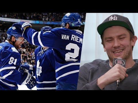 JVR Joined Spittin' Chiclets To Tell Some Hilarious Stories About Playing With Phil Kessel