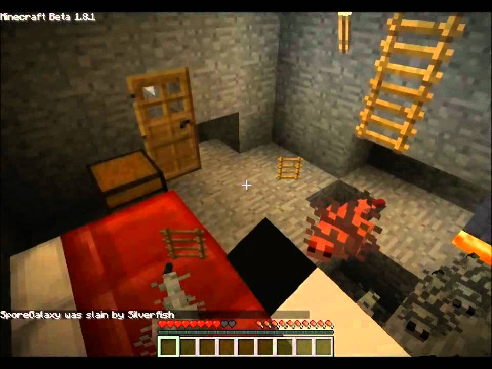 Minecraft's Little Brother Learns A Hard Lesson About Silverfish