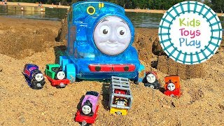 Thomas Friends at the BEACH! | Sodor Storytime Thomas the Train Full Episode