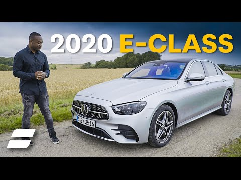 External Review Video NLgkvQUZBR8 for Mercedes-Benz E-Class Sedan W213 & Wagon S213 (5th-gen, 2020 facelift)