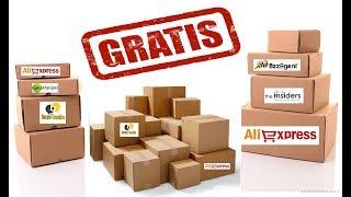 Como RECEBER produtos GRÁTIS - 5 Sites