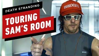 Death Stranding Gameplay: Kojima Gives a Tour of Sam's Private Room (Japanese VO) - TGS 2019