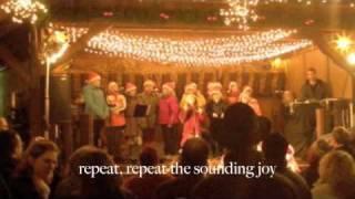 Joy to the world, Chris Tomlin. joy, unspeakable joy! with lyrics