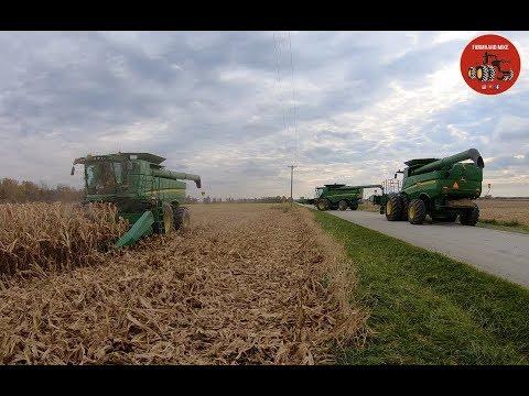 2018 Corn Harvest in Ontario Canada at Parkland Farms