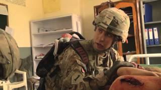 Combat Medics Treat Injured Afghans After VBIED Attack