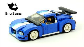 Lego Creator 31070 Turbo Track Racer - Lego Speed Build
