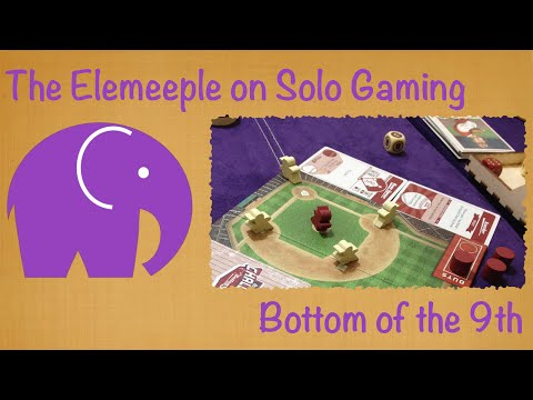 Bottom of the 9th Rules/Playthrough/Review - A Solo Perspective