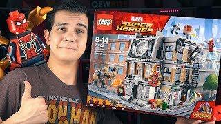 LEGO Война Бесконечности - ЖЕЛЕЗНЫЙ ПАУК (76108)