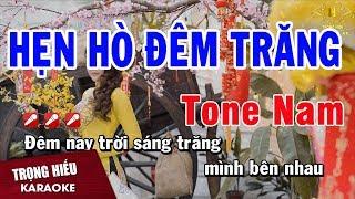 karaoke-hen-ho-dem-trang-tone-nam-nhac-song-trong-hieu