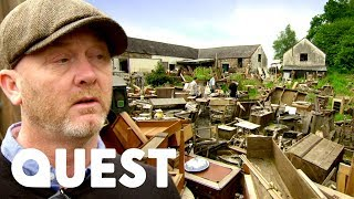 The Messiest Warehouse Ive Ever Seen!   Salvage Hunters