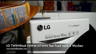LG TWINWash F4WM10TWIN Test Fazit nach 6 Wochen
