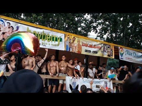 Orgullo Gay 2018 MADRID Manifestacion y Carrozas /Gay Pride Paarde