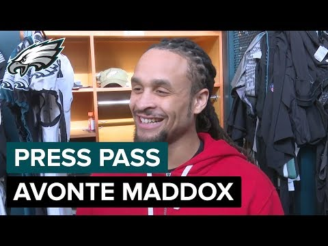 Avonte Maddox 'I Learned That I'm a Beast'   Eagles Press Pass
