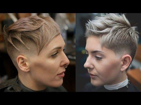 Extreme Short Haircuts Undercut Short Hair Women Extreme Hair