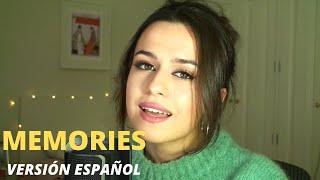 MEMORIES - VERSION ESPAÑOL (MAROON 5) BY CRIS BLANCO