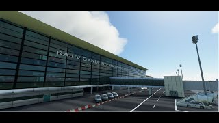 Microsoft Flying Simulator 2020 Airport Mod - Rajiv Gandhi International Airport - ICAO VOHS