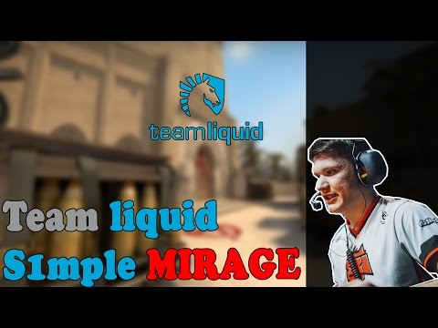 Team Liquid s1mple playing CS:GO Faceit on cache (twitch stream
