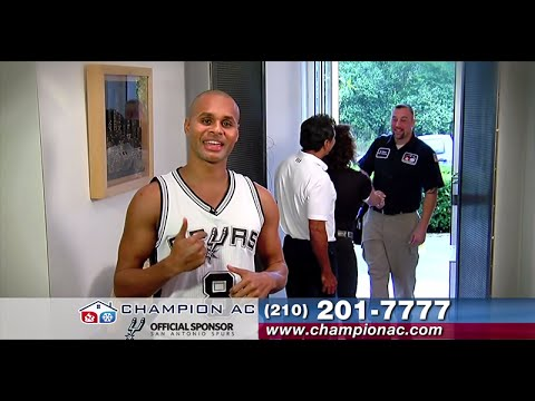 video:Champion AC Commercial with Patty Mills of the San Antonio Spurs