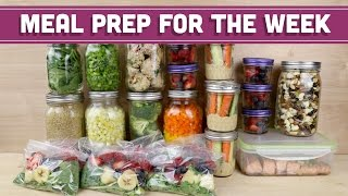 Meal Prep For The Week! - Mind Over Munch