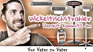 Wickeltischstrahler Review: Worauf solltest du achten!!! I Tipps und Tricks I #vonvaterzuvater