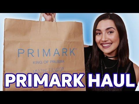 My First Primark Haul