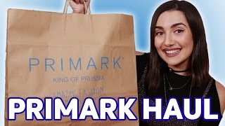 My First Primark Haul