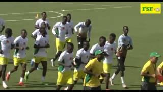 Les lions du Senegal ont effectué , leur deuxième séance d