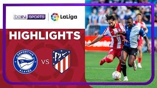 Alaves 1-0 Atletico Madrid Pekan 7