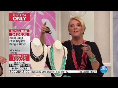 HSN | Heidi Daus Jewelry Designs 05.16.2017 - 10 PM