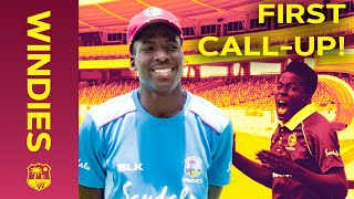 One to Watch! | Chemar Holder on His First Test Call-Up & Training Footage | Windies
