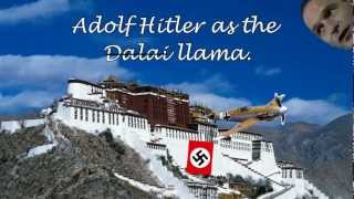 Adolf Hitler as the Dalai Llama